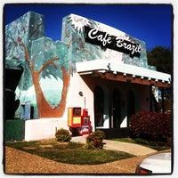 Photo taken at Cafe Brazil by Cynthia S. on 11/17/2011