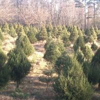 Photo taken at Back Achers Christmas Trees by Tamara N. on 12/4/2011