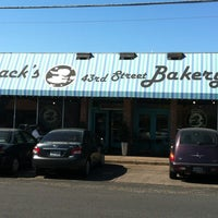 Photo taken at Quack's 43rd St Bakery by Linda H. on 4/22/2012