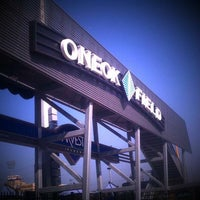 Photo taken at ONEOK Field by Dave S. on 6/9/2011