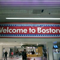 Photo taken at Boston Logan International Airport (BOS) by Patrick P. on 11/23/2011