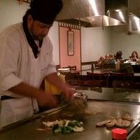 Photo taken at Fujiyama Sushi and Hibachi Grill by Miguel V. on 4/10/2012