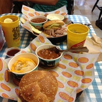 Photo taken at Dickey's Barbecue Pit by Marcelo G. on 4/25/2012