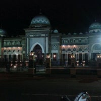 Photo taken at Alun - Alun Banjarnegara by Wildan M. on 1/28/2012