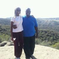 Photo taken at Caballero Canyon Trail Access by Donovan W. on 3/10/2012