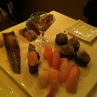 Photo taken at Doma Sushi by Roman Z. on 11/19/2011