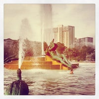 Photo taken at Swann Memorial Fountain by Jed S. on 7/26/2012