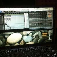 "Photo taken at Prosantana Recording Studio, Creative Studio by Carlos ""Charlie"" S. on 5/1/2012"