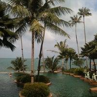 Photo taken at Anantara Bophut  Resort And Spa by Dina M. on 1/7/2012