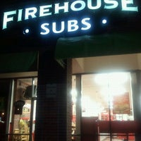 Photo taken at Firehouse Subs by Alex G. on 10/8/2011