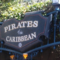 Photo taken at Pirates of the Caribbean by Brad A. on 6/10/2012