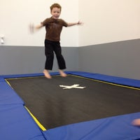 Photo taken at Dynamite Gymnastics Center by Heather F. on 12/28/2011