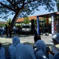 Photo taken at SMA Negeri 1 Puri by Fariza F. on 7/24/2012