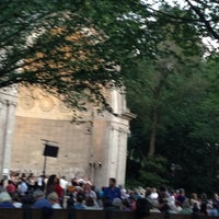 Photo taken at Naumburg Bandshell by Hector C. on 6/20/2012