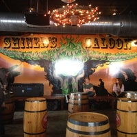 Photo taken at Shiner's Saloon by Luther P. on 3/14/2012