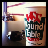 Photo taken at Round Table Pizza by Ed V. on 11/21/2011