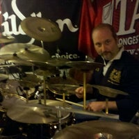 Photo taken at Drum Groove School Di Andrea Pollastri by Andrew P. on 11/3/2011