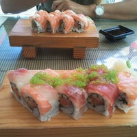 Photo taken at Sushi Bar Bazel by claudia on 9/20/2011