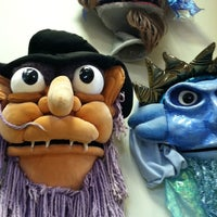 Photo taken at Madcap Puppets by Dylan S. on 7/20/2011
