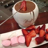 Photo taken at Maya Le Chocolaterie by Humaidified on 3/28/2012