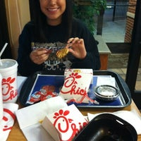 Photo taken at Chick-fil-A Humble by Jarrod B. on 12/28/2011