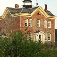 Photo taken at Saugerties Lighthouse by Jeanette S. on 6/7/2011
