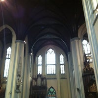 Photo taken at Gereja Katolik Katedral Jakarta by Steven L. on 5/13/2012