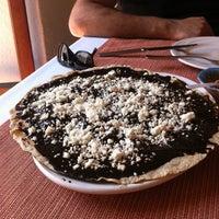 Photo taken at Los Pacos -Alta Cocina Oaxaqueña- by Alessandra on 10/15/2011