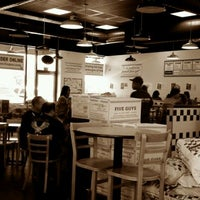 Photo taken at Five Guys by Tom S. on 7/1/2011