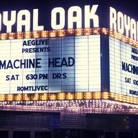 Photo taken at Royal Oak Music Theatre by Sean on 1/23/2012