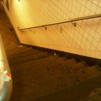 Photo taken at MTA Bus - B46/B46+SBS+ @ Utica Avenue/Malcolm X Blvd & Fulton Street by Karle R. on 10/21/2011