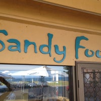 Photo taken at Sandy Foot Cafe by Michael S. on 1/3/2012