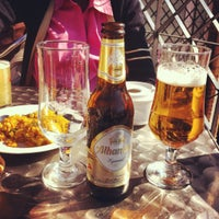 Photo taken at Cerveceria Bacciu by Lola S. on 2/19/2012