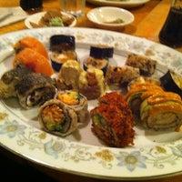 Photo taken at Miya's Sushi by R. B. on 11/1/2011