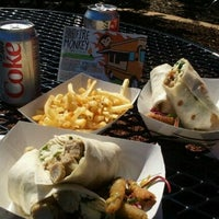Photo taken at Fire Monkey Food Truck by Melissa H. on 10/14/2011