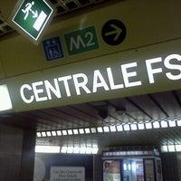 Photo taken at Metro Centrale FS (M2, M3) by Edu M. on 11/28/2011
