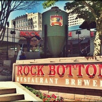 Photo taken at Rock Bottom Restaurant & Brewery by Clint G. on 9/28/2011