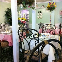 Photo taken at The Secret Garden Tea Cafe & Gift Shoppe by Maya . on 4/22/2012