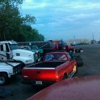 Photo taken at Tramell trucking yard by Michael J. W. on 7/19/2012
