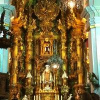 Photo taken at Parroquia de Ntra. Sra. del Carmen y Santa Teresa by Raúl G. on 5/13/2012