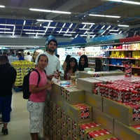 Photo taken at Carrefour by Pablo C. on 2/12/2012