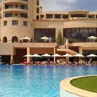 Photo taken at Mövenpick Resort & Marine Spa Sousse by Ruslan B. on 6/17/2012