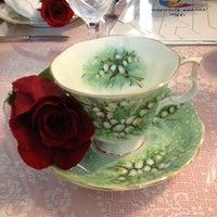 Photo taken at The Secret Garden Tea Cafe & Gift Shoppe by Liz on 8/30/2012