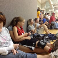 Photo taken at Hays Recreational Center by Celeste O. on 6/2/2012
