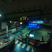 Photo taken at Indoor Karting Barcelona by david t. on 3/6/2012