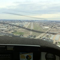 Photo taken at Addison Airport (ADS) by Jacob W. on 2/12/2012