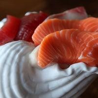 Photo taken at iSushi Cafe by Carmel City Magazine on 5/15/2012