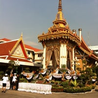 Photo taken at Wat Thep Leela by Aoy P. on 4/9/2012