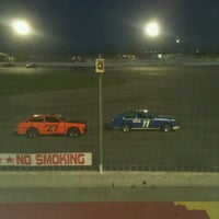 Photo taken at Stateline Speedway by Becky C. on 7/26/2012
