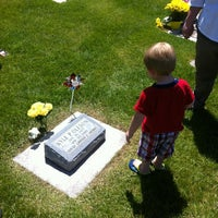 Photo taken at Herriman City Cemetery by Joel O. on 6/13/2012